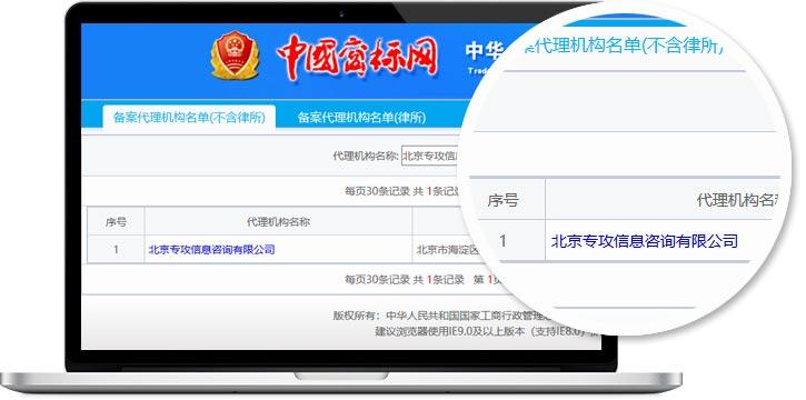 北京专攻商标代理资质